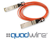 Finisar 40Gb/s Quadwire Active Optical Cables