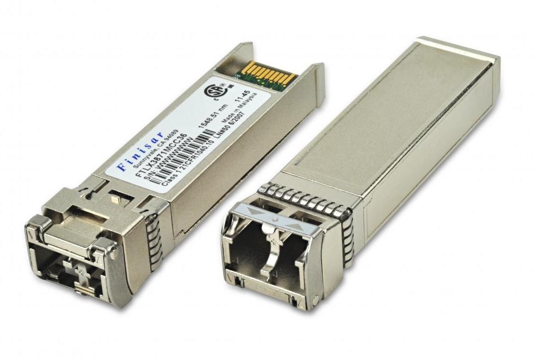 Finisar FTLX3871MCC26 DWDM ZR 80km SFP+ Transceiver